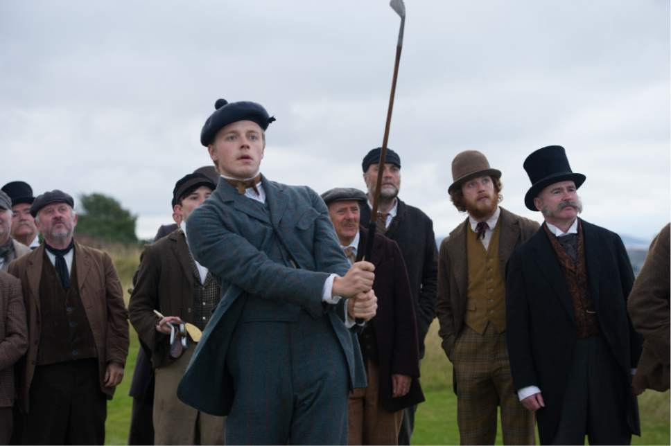 """Jack Lowden plays Tommy Morris, the legendary young Scottish golfer who with his father revolutionized the game, in the biographical drama """"Tommy's Honour."""" Neil Davidson  
