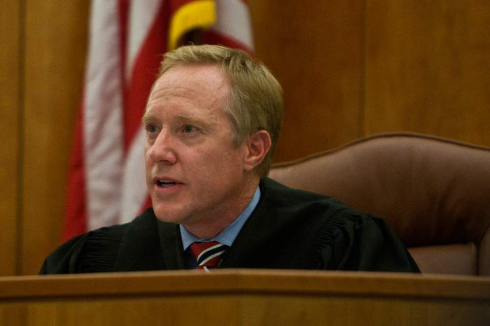 Chris Detrick     Tribune file photo Judge Thomas Low is seen here in a December 13, 2011, file photo.