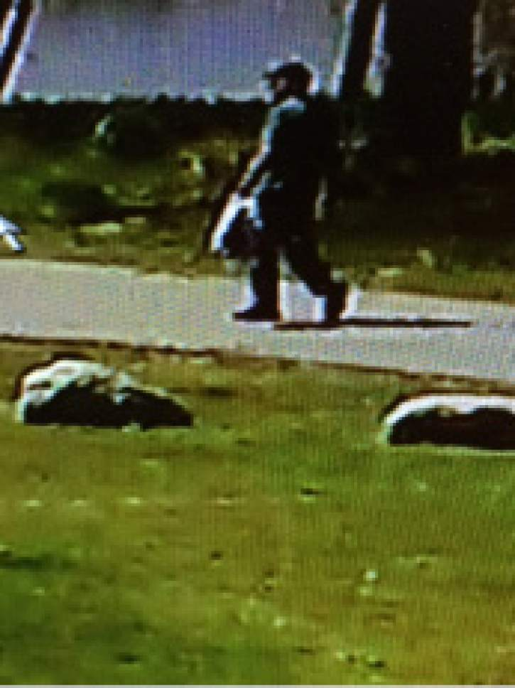 Courtesy South Salt Lake Police Department Investigators are trying to identify the people in the photos that were walking on the Jordan River Parkway Trail on Easter Sunday between the hours 11:00 A.M. and 2:00 P.M. near the area of 3110 South. Police believe these individuals are potential witnesses that may have interacted with or saw Matthew Holt before his death.