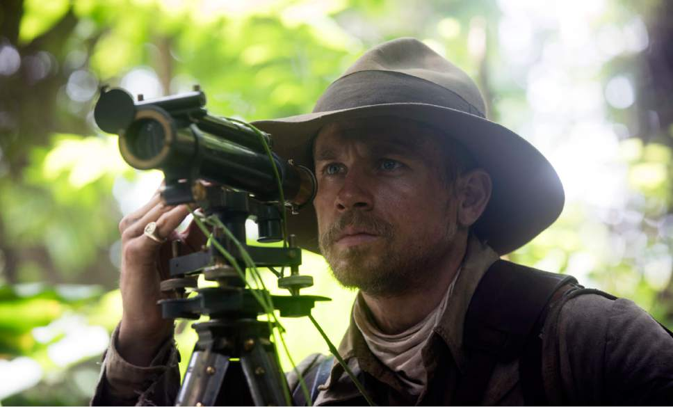 """This image released by Amazon Studios/Bleecker Street Films shows Charlie Hunnam in a scene from """"The Lost City of Z."""" (Aidan Monaghan/Amazon Studios/Bleecker Street via AP)"""