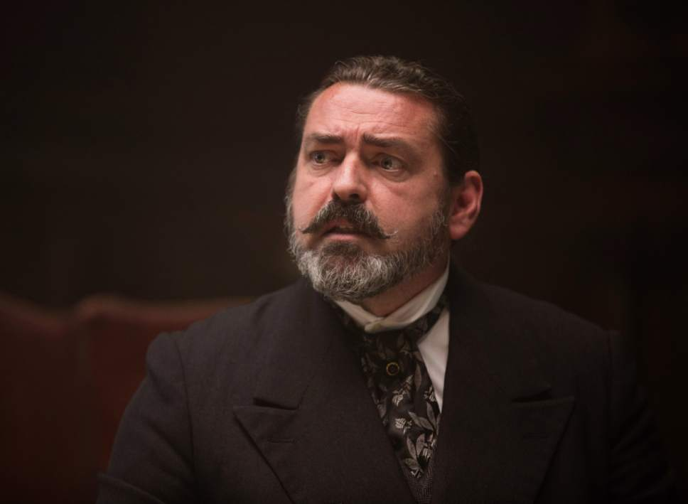 "This image released by Amazon Studios/Bleecker Street Films shows Angus Macfadyen in a scene from ""The Lost City of Z."" (Aidan Monaghan/Amazon Studios/Bleecker Street via AP)"