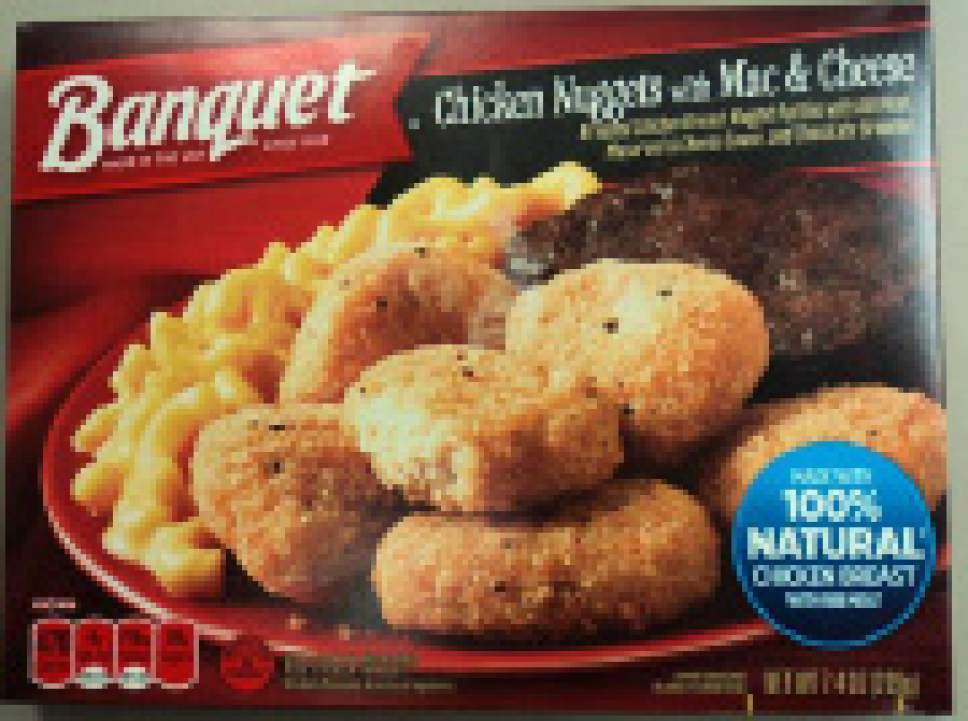 |  Courtesy of U.S. Department of Agriculture's Food Safety and Inspection Service  The brownie mix dessert included in breaded chicken nugget meal trays produced by Conagra Brands, Inc. may be contaminated with Salmonella the U.S. Department of Agriculture's Food Safety and Inspection Service reported Thursday.