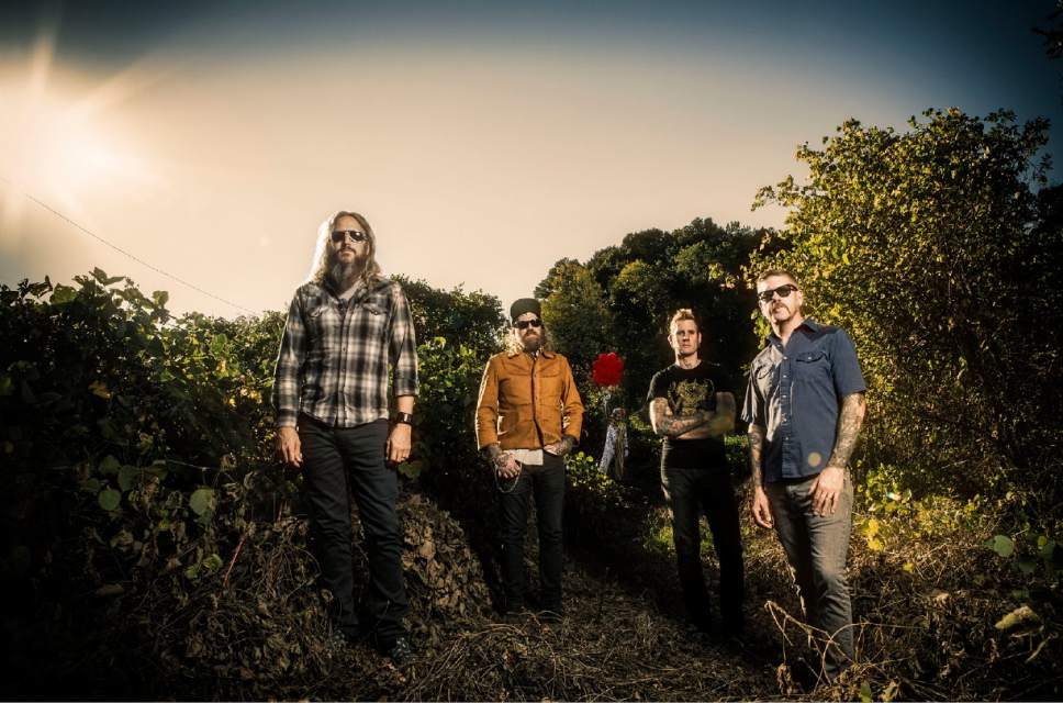 "Prog-metal band Mastodon, which just released its seventh studio album, ""Emperor of Sand"" on March 31, will perform at The Complex in Salt Lake City on Sunday, April 23. Courtesy Jimmy Hubbard"