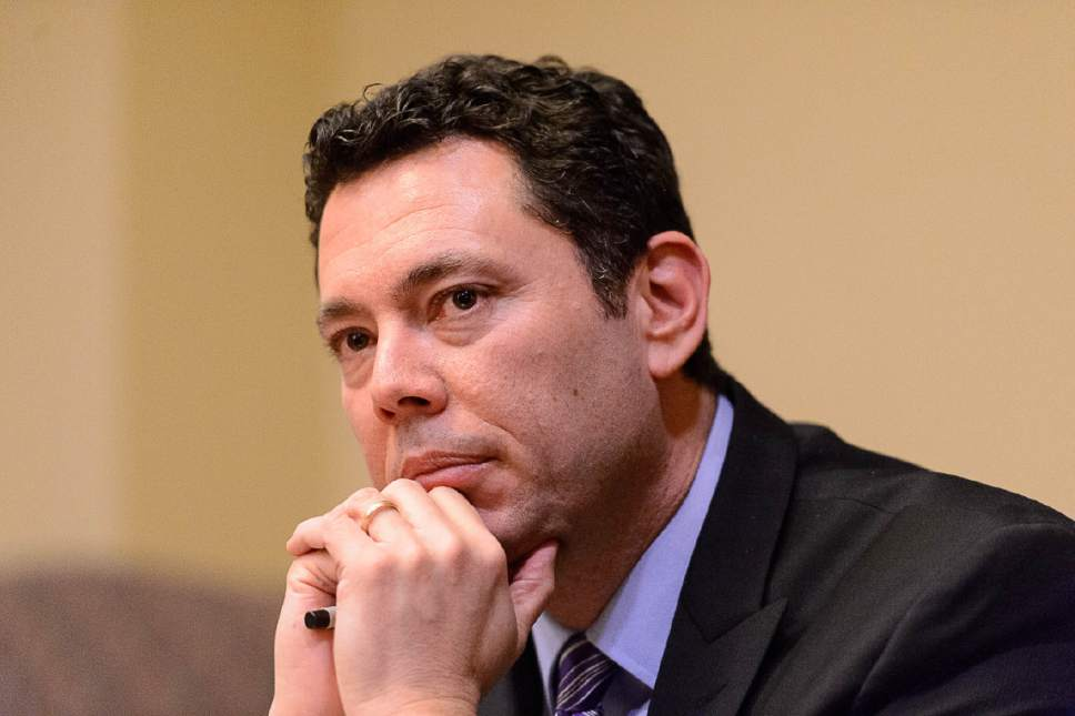 Trent Nelson  |   Tribune file photo U.S. Rep. Jason Chaffetz, R-Utah, has called on the Justice Department's inspector general to review the firing of FBI Director James Comey.