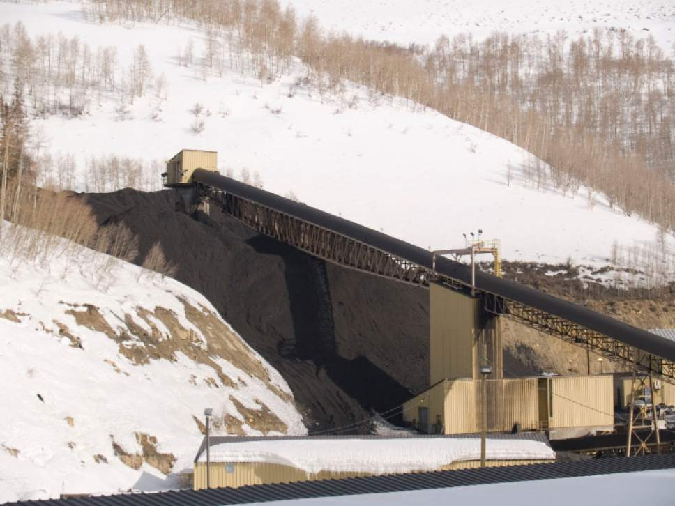 Courtesy of Utah Geological Survey  Emery County water users fear Skyline Mine's expansion into the Flat Canyon coal tract could impair their rights to Huntington Creek, which supplies homes, business, a power plan and farms.