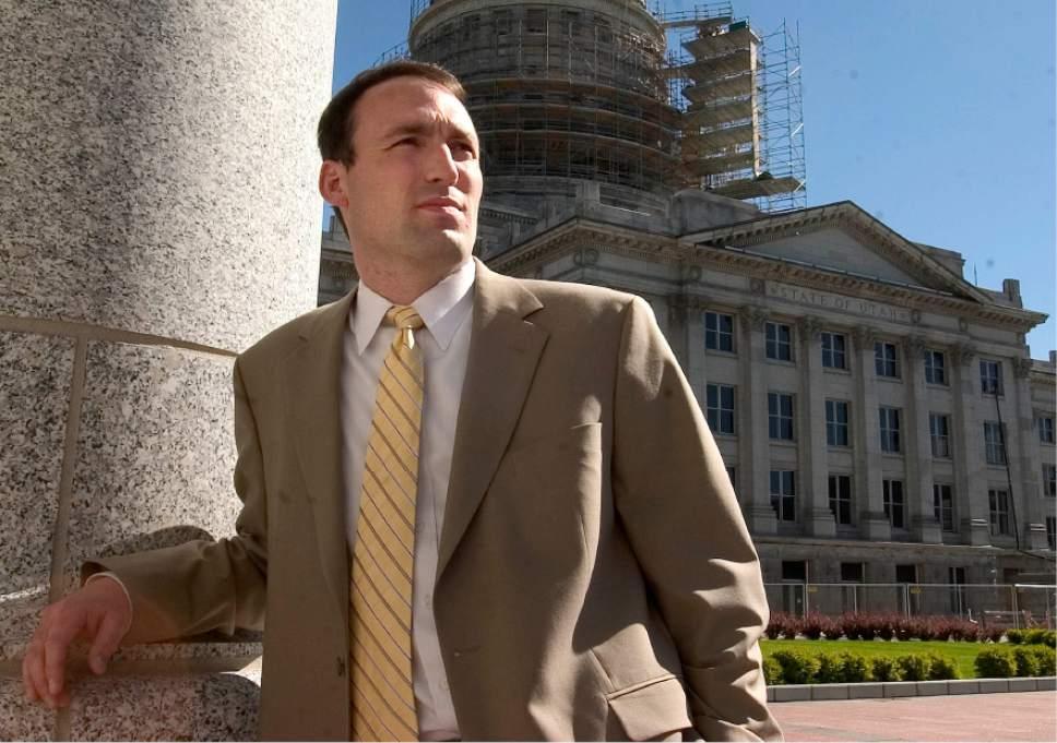 |  Tribune File Photo  Chris Bleak at the State Capitol campus June 13, 2005.
