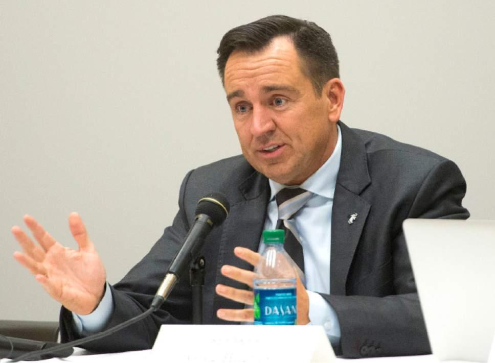 Rick Egan  |  Tribune file photo  Greg Hughes, Speaker of the Utah House of Representatives and former chairman of the Utah Transit Authority Board.