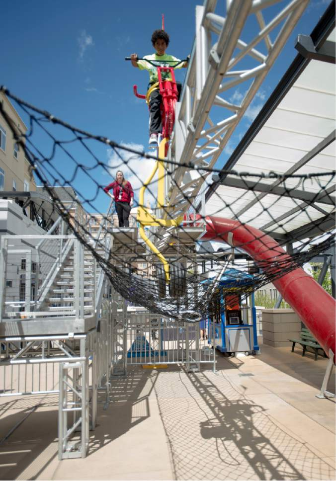 New Salt Lake Children S Museum Ride Takes Physics To New Heights