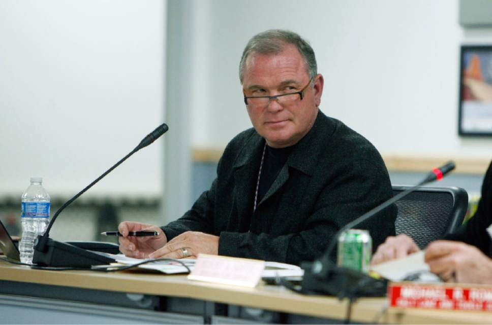 Francisco Kjolseth  |  Tribune file photo Former Utah Transit Authority board member Terry Diehl, a developer, is the subject of a state investigation into conflict-of-interest issues raised in a legislative audit.