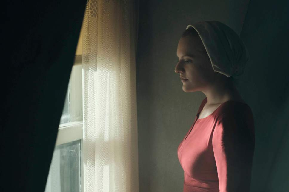 Elisabeth Moss stars in ìThe Handmaid's Tale.î George Kraychyk  |  Courtesy of Hulu