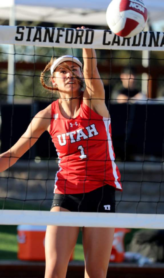 Utah beach volleyball: In first season, Utes try to get ...