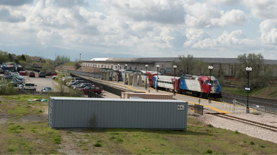 Leah Hogsten  |  The Salt Lake Tribune  A fight is erupting over how to develop the land around the Clearfield FrontRunner Station. It had long been proposed as a transit-oriented development that would be a regional center for growth with apartments, retail and offices. Now, much of it may become a train car manufacturing plant for Stadler, a company that has been at the center of some UTA scandals.
