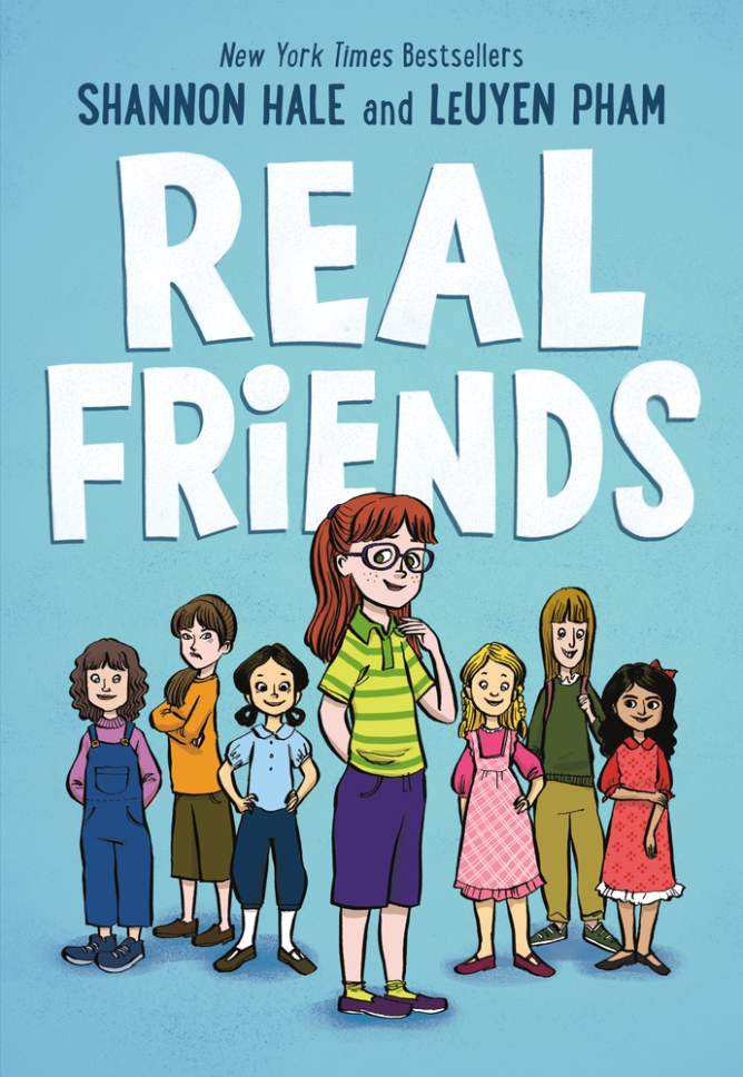 "Courtesy photo Utah author Shannon Hale's forthcoming book is ""Real Friends,"" which explores the subject of bullying and the different forms it takes, at school and at home."