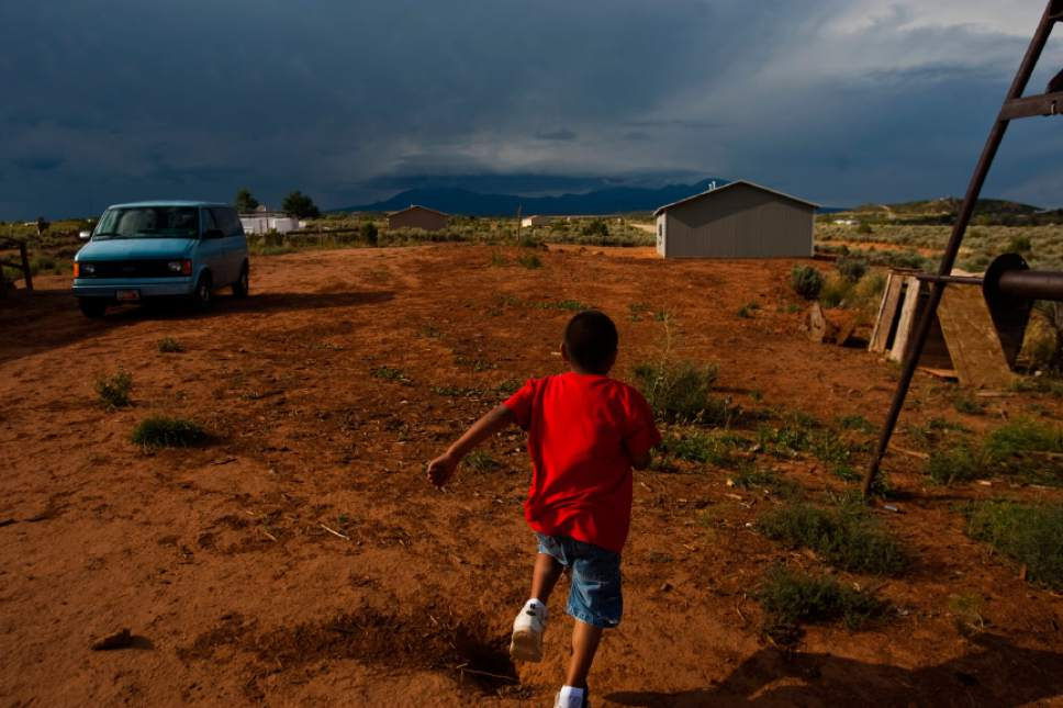 Chris Detrick  |  Tribune file photo  Residents of the Navajo community of Westwater in Utah's San Juan County, shown here in 2010, have lived for years without running water, plumbing, sewage disposal or electricity. New evidence that San Juan's Navajos are undercounted by the U.S. Census could hold huge political and funding implications for the state's poorest county.
