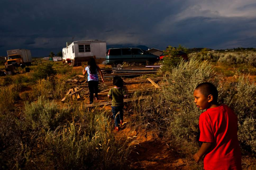 Chris Detrick  |  Tribune file photo  Residents of the Navajo community of Westwater in Utah's San Juan County, shown here in 2010, have lived for years without running water, plumbing, sewage disposal or electricity. New evidence that San Juan's Navajos are undercounted by the U.S. Census could hold huge political and funding implications for the stateís poorest county.