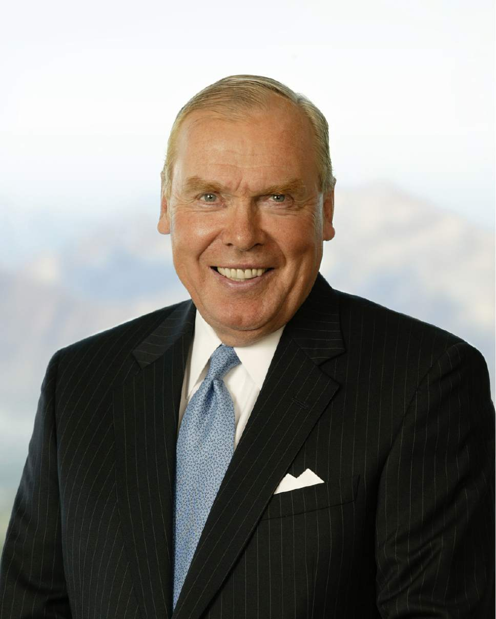 Courtesy  |  Jon Huntsman Sr.  Jon Huntsman Sr.