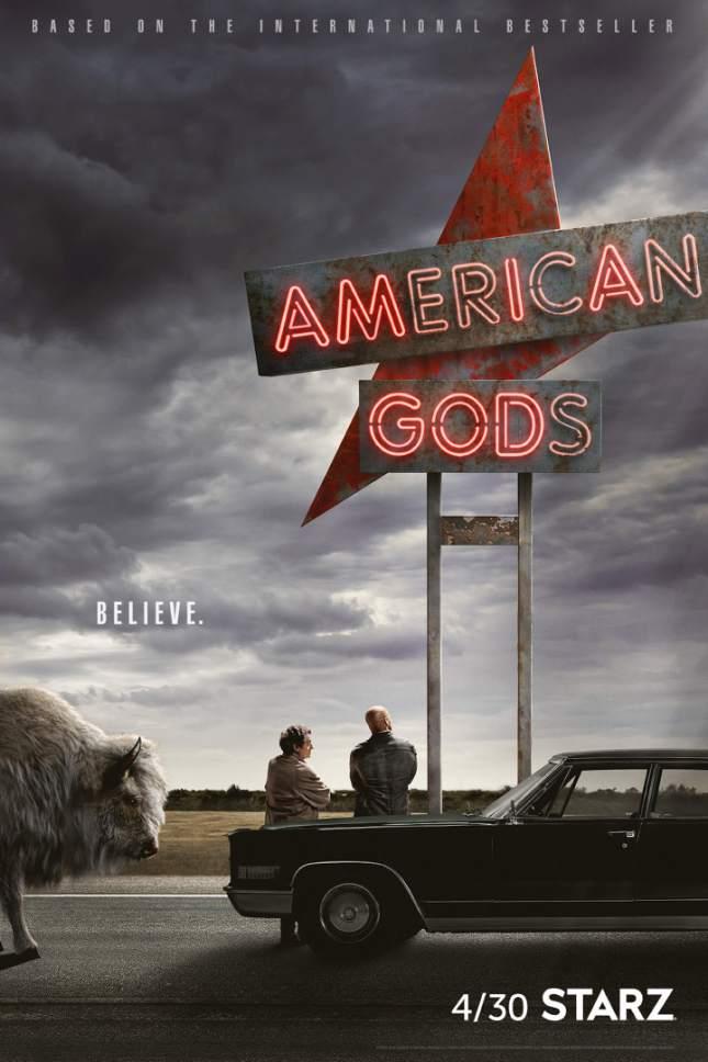 """""""American Gods"""" premieres Sunday on Starz. Courtesy Starz"""