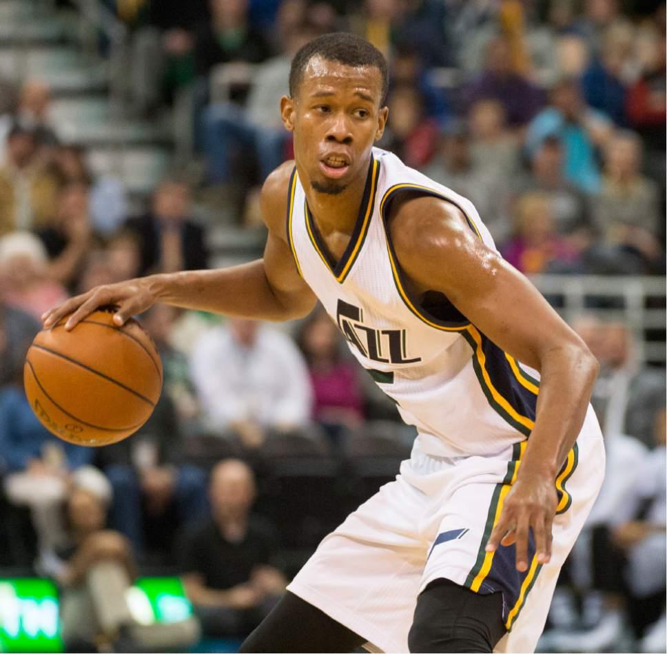 Houston Rockets Vs Utah Jazz: Gallery: Utah Jazz Guard Rodney Hood