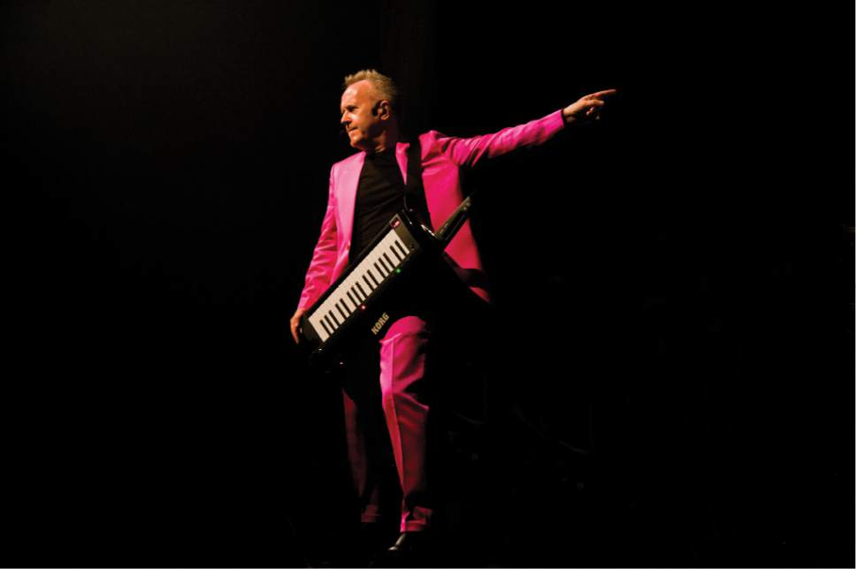 Synth pioneer and pop singer Howard Jones will be playing at Red Butte Garden this summer. Courtesy David Conn