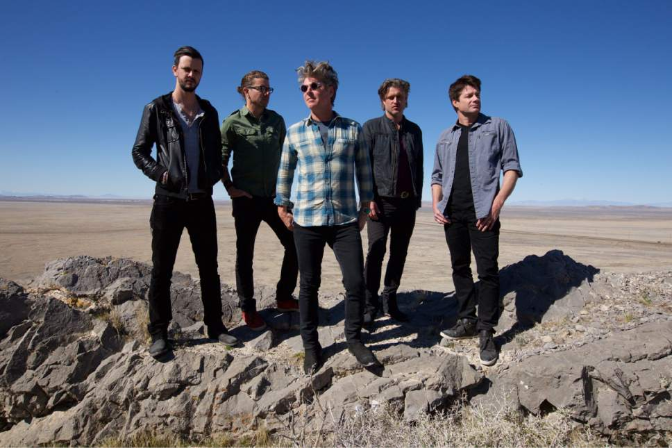 Courtesy photo  Collective Soul, which was one of the biggest alternative rock bands of the 1990s, will perform in June at the Sandy Amphitheater.