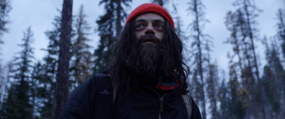 "Rami Malek plays Buster, a mountain man with a tragic past, in the psychological thriller ""Buster's Mal Heart."" Courtesy Well Go USA"