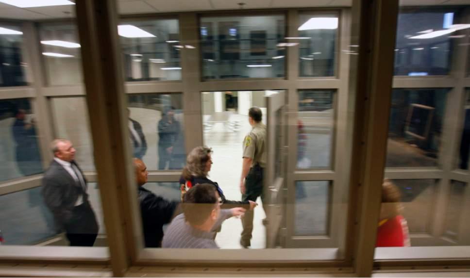The newly expanded Davis County Jail in Farmington, as seen on Dec. 13, 2006.