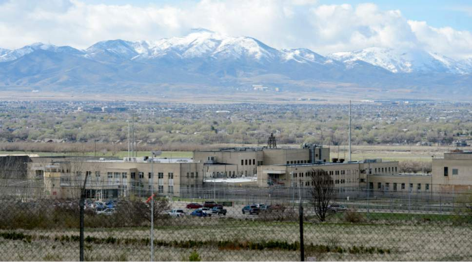 Steve Griffin  |  Tribune file photo The site of the current Utah State Prison, seen in March, is one of two proposed sites for a homeless shelter in Draper.