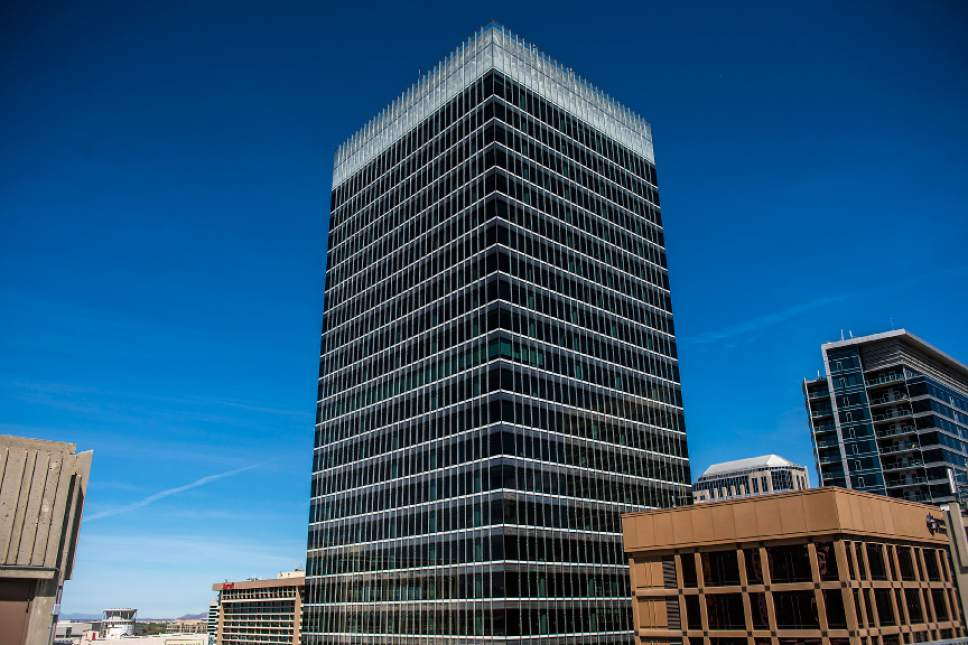 Chris Detrick  |  The Salt Lake Tribune 111 South Main Tower in Salt Lake City photographed Wednesday, May 3, 2017.