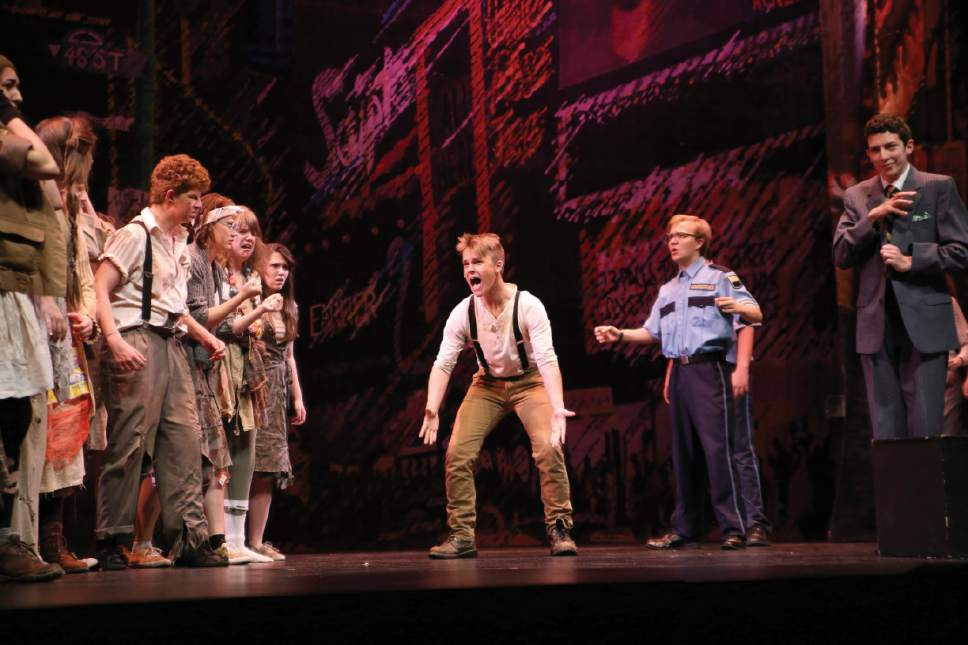 |  Courtesy Intrigue Photography  Urinetown from Northridge High School – Best Musical Finalist