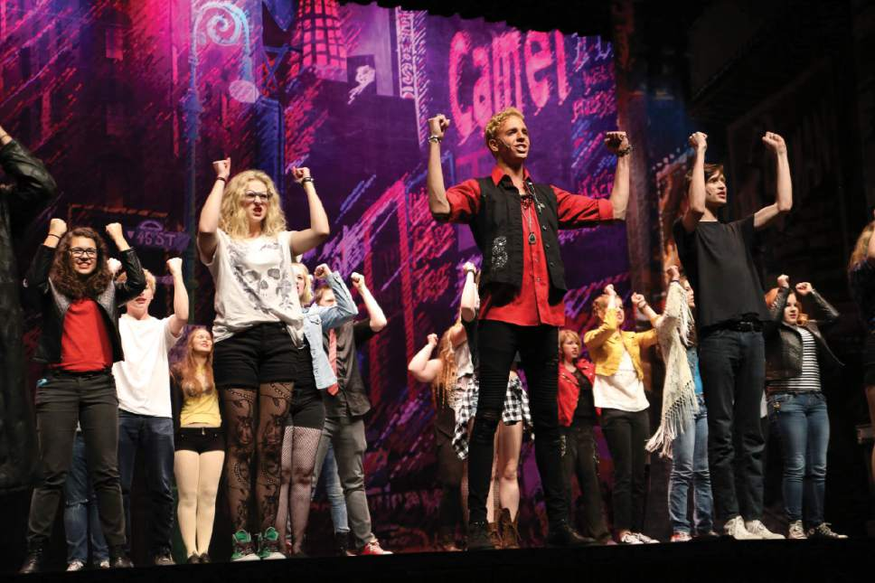 |  Courtesy Intrigue Photography  Pippin – Highland High School – Best Musical Finalist.