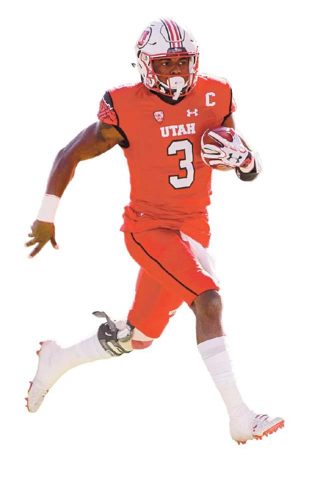 Trent Nelson  |  The Salt Lake Tribune Utah Utes quarterback Troy Williams (3) runs the ball as Utah hosts Oregon, NCAA football at Rice-Eccles Stadium in Salt Lake City, Saturday November 19, 2016.