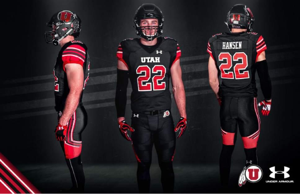buy online e0190 5fd09 Utah football: Utes reveal 'Utah stripe' inspired design for ...