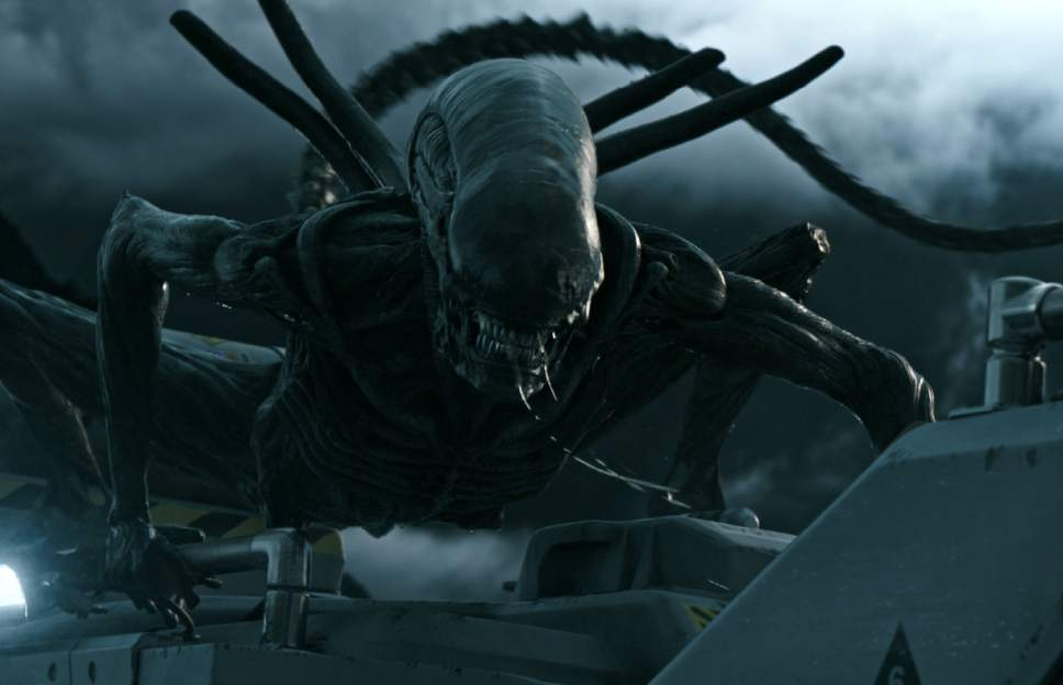 "This image released by Twentieth Century Fox shows a scene from ""Alien: Covenant.""  (Twentieth Century Fox via AP)"