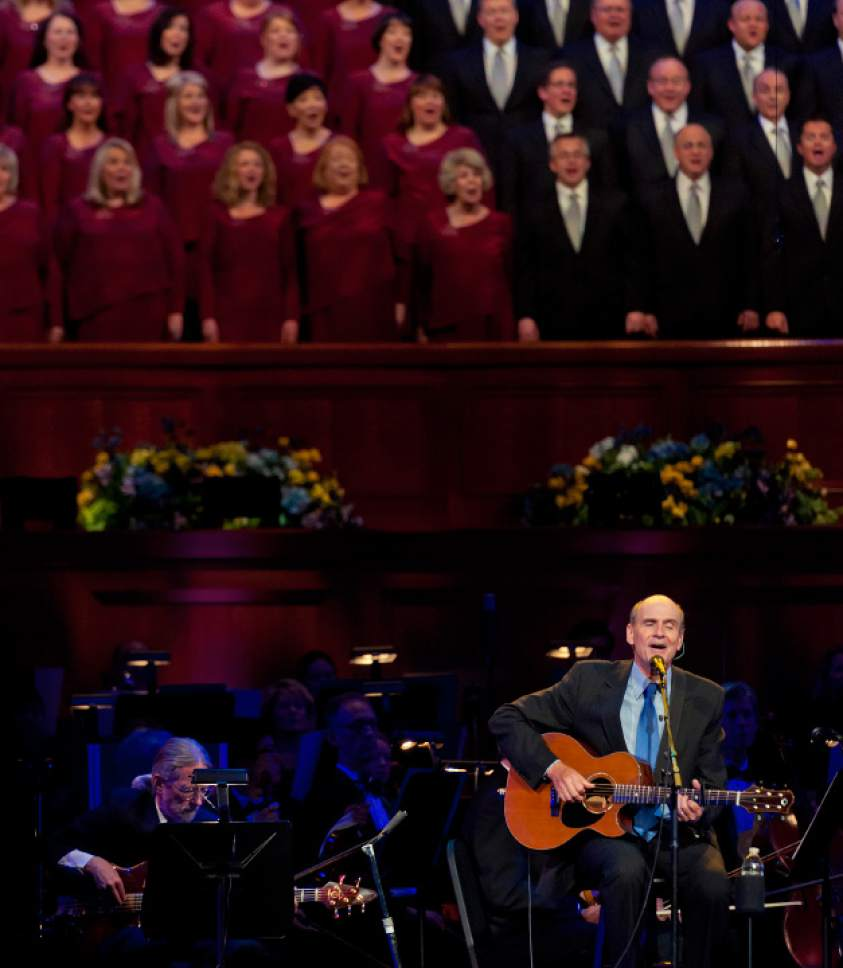 Mormon Tabernacle Choir celebrates collaborations on new album - The ...