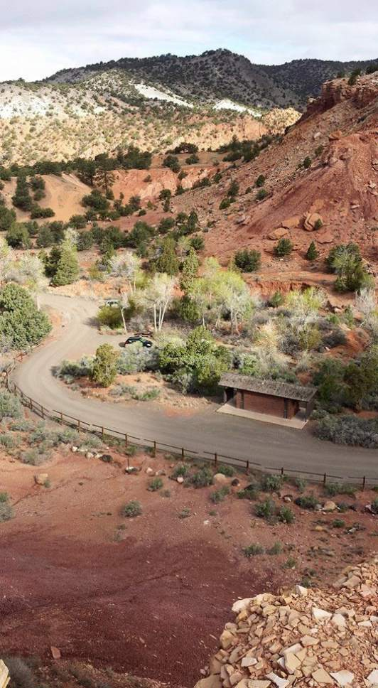 Sunglow Campground is tucked away in a quiet corner near Capitol Reef National Park. Courtesy Christopher Caldwell