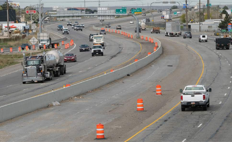 Francisco Kjolseth | Tribune file photo UDOT is going to accelerate several big-ticket highway projects with $1 billion approved by the Utah Legislature.