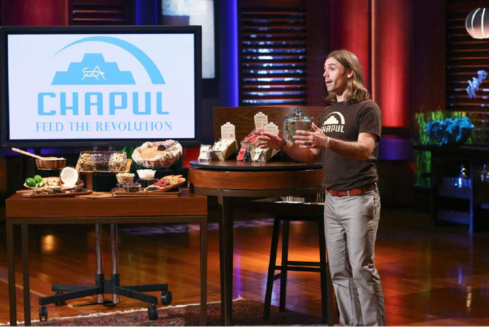 "In March 2014, Pat Crowley, owner of Utah-based Chapul Bars, presented his cricket bar concept on the hit television show ""Shark Tank."" Billionaire Mark Cuban gave the company $50,000 for a 15 percent share in the company. Courtesy Chapul"
