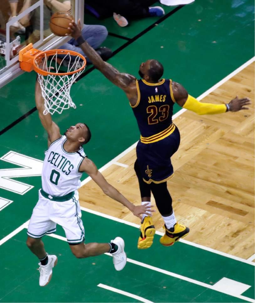 NBA Playoffs: Cavs Send Celtics To Record Loss, 130-86