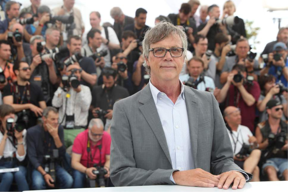 Director Todd Haynes poses for photographers during the photo call for the film Wonderstruck, at the 70th international film festival, Cannes, southern France, Wednesday, May 17, 2017. (AP Photo/Alastair Grant)
