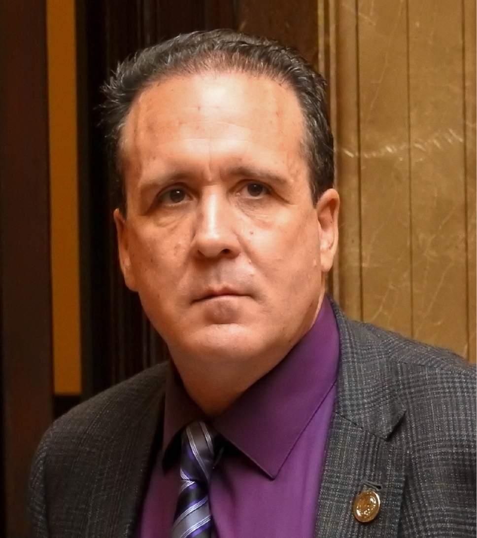 Trent Nelson  |  The Salt Lake Tribune Rep. Brad M. Daw, R-Orem, as the Utah State Legislature meets in Salt Lake City, Tuesday January 24, 2017.
