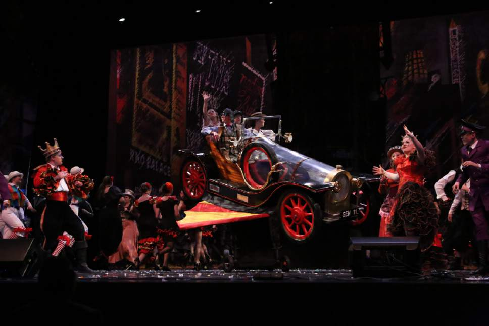 Scott Biggs  |  Intrigue Photography  The 2017 Finalist Uintah High School for Chitty Chitty Bang Bang.