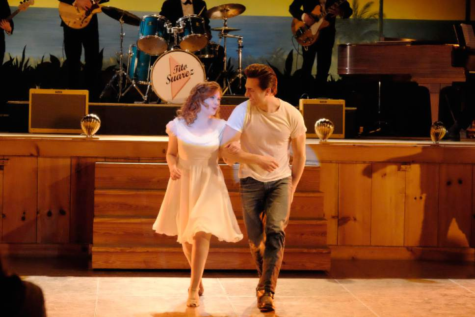 Abigal Breslin stars as Baby and Colt Prattes as Johnny in the TV movie remake of ìDirty Dancing.î Guy D'Alema  |  ABC