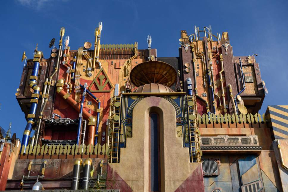 Courtesy photo  The big new ride at Disneyland/California Adventure is a remake of the old Twilight of Terror. Opening May 27 at California Adventure, the ride is called Guardians of the Galaxy--Mission: Breakout.