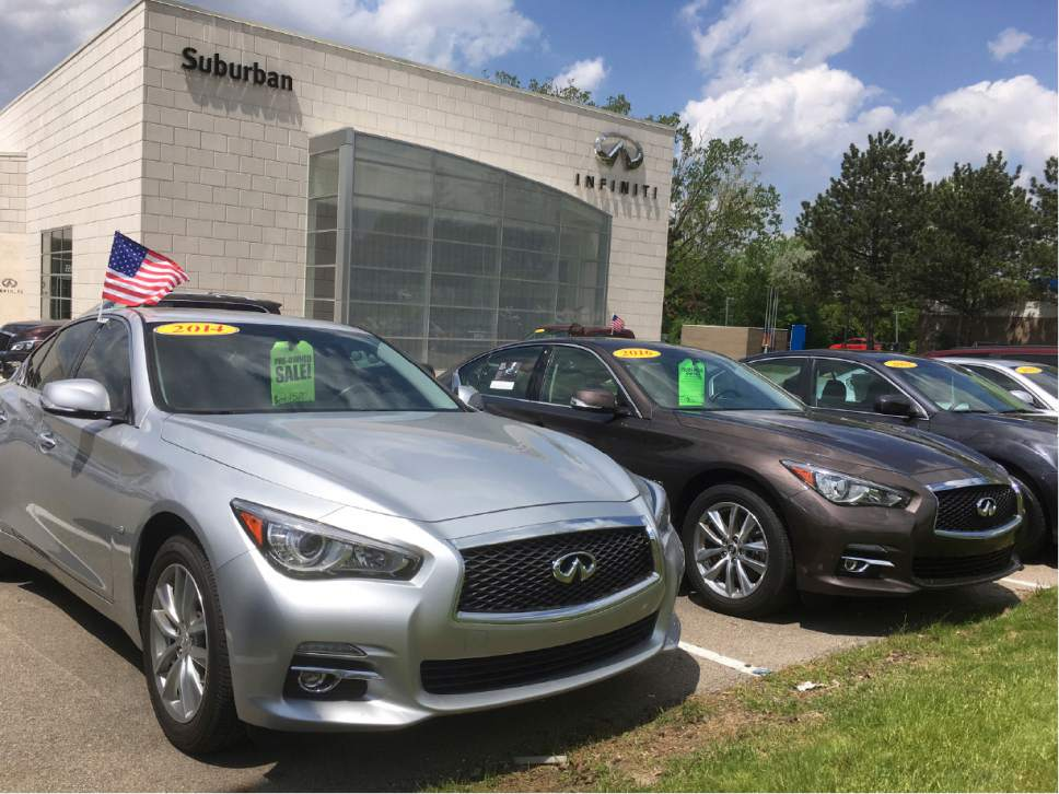 Off-lease used cars are pushing prices down - The Salt Lake Tribune
