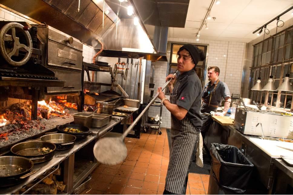Oak Wood Fire Kitchen Salt Lake City