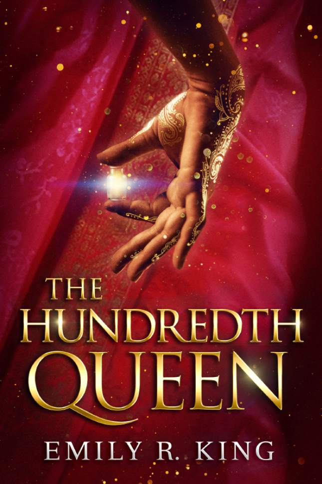 "The cover for Emily R. King's first novel, ""The Hundredth Queen."" Courtesy Skyscape"