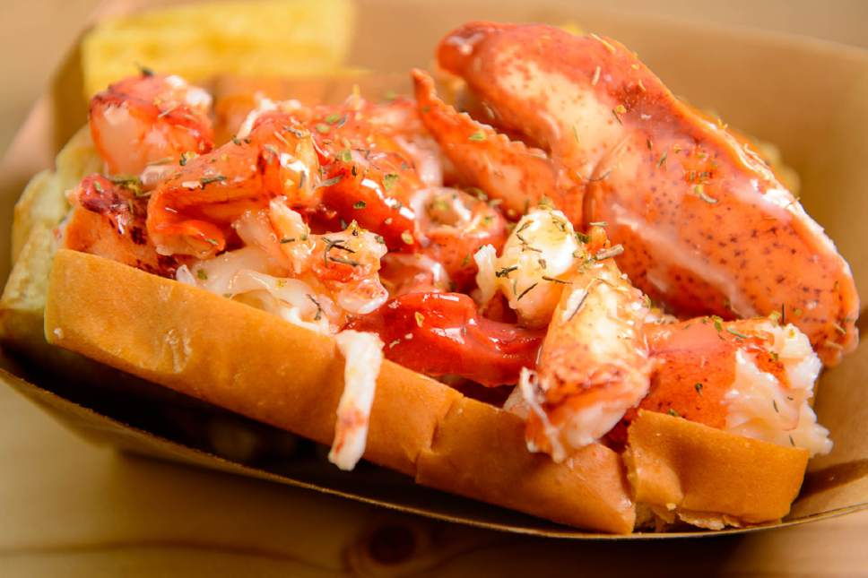 Trent Nelson  |  The Salt Lake Tribune A lobster roll at Freshie's Lobster Co. in Park City.