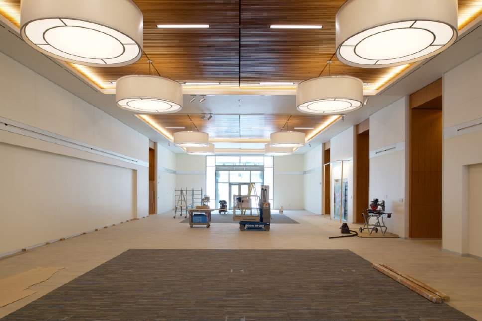 |  Courtesy LDS Church  Both of the new buildings at the Missionary Training Center (MTC) in Provo, Utah, will have lobbies with paintings of various scenes depicting the teachings of Jesus Christ.