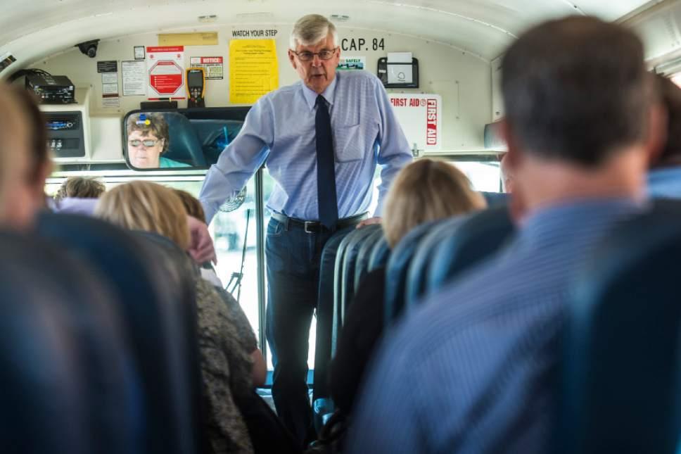 Chris Detrick  |  Tribune file photo Riverton Mayor Bill Applegarth has filed to seek another term in office