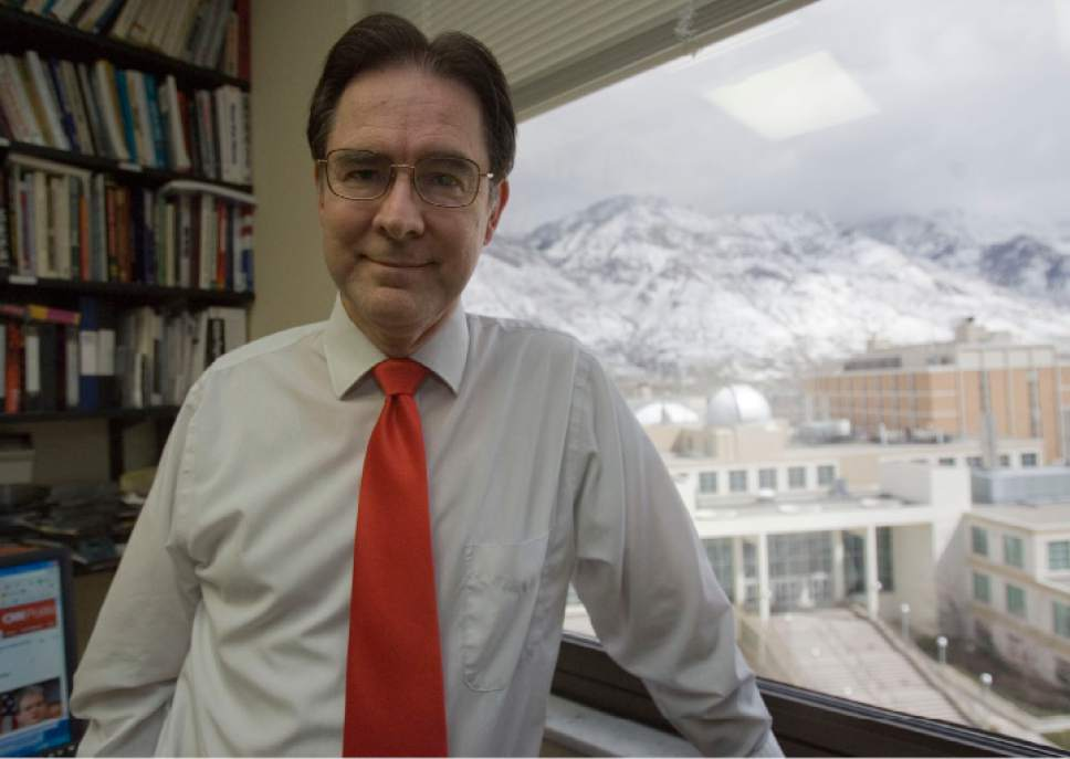 Tribune file photo Richard Davis, a political science professor at Brigham Young University and former chairman of the Utah County Democratic Party, will lead a new United Utah Party.